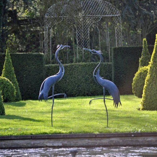 Herons by Ian Gill