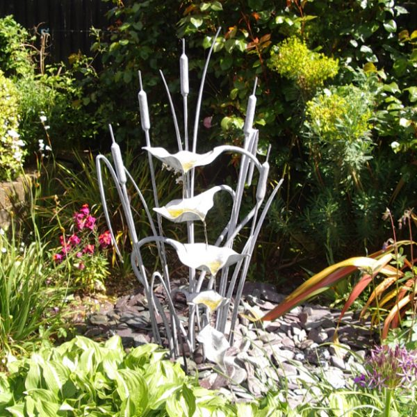 Reed & Bulrush Water Sculpture