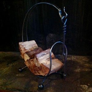 Log Ring Poker by Ian Gill