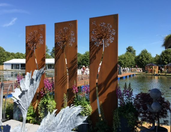 Ian Gill Sculpture - Make a Wish Garden Sculpture
