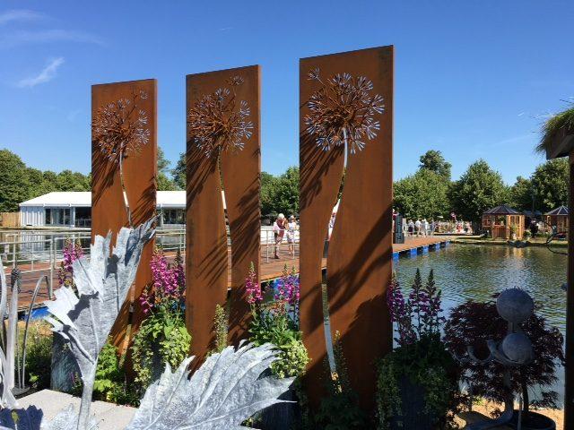 Ian Gill Sculpture - Make a Wish Garden Sculpture