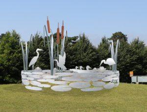 Sculpture design by Ian Gill