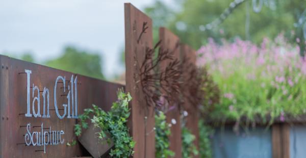 Ian Gill Sculpture - Make a Wish - Chelsea Flower Show