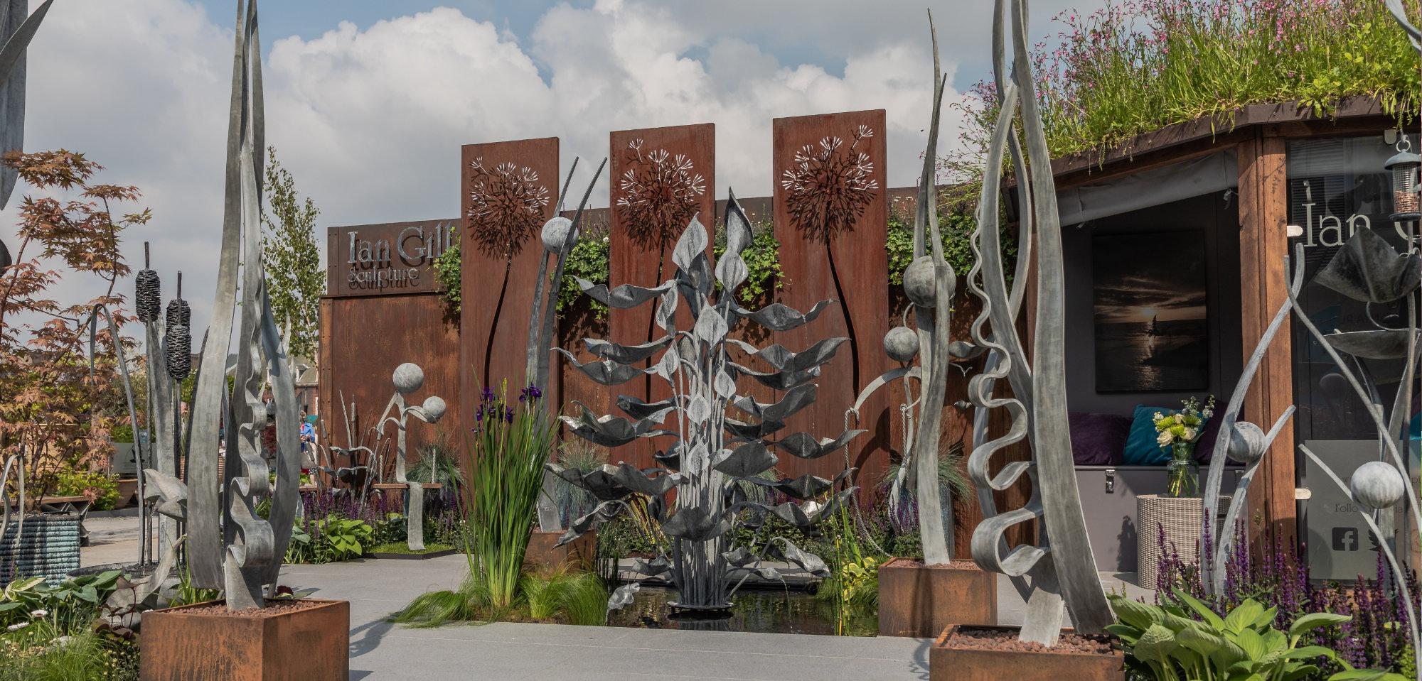 Ian Gill Sculpture at Chelsea Flower Show
