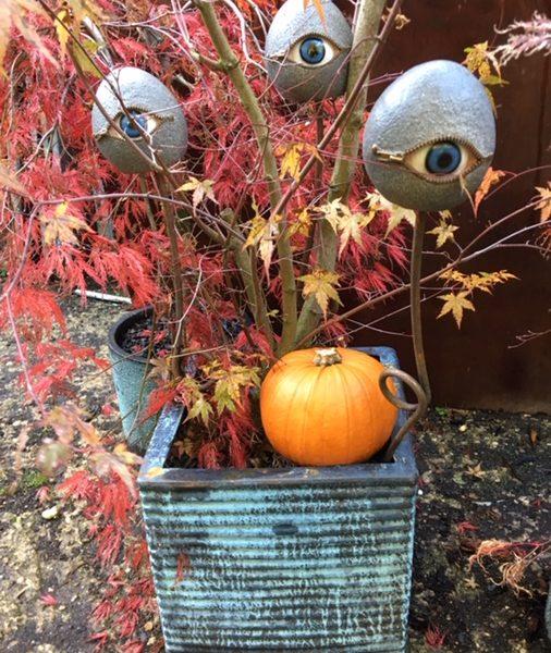 Marmite Eyes for Halloween