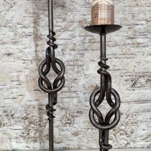 Knot Candlestick by Ian Gill Sculpture