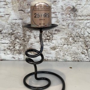 Small Single Twist Candlestick by Ian Gill Sculpture